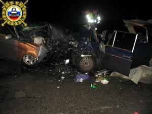 17 декабря, около 0:40, на 54-м километре трассы сыктывкар - ухта произошла авария
